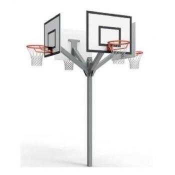 Panier De Basket Sur Pied Pour L Extérieur Metaluplast